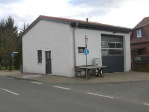 Gerätehaus Fürstenau Baujahr 2011