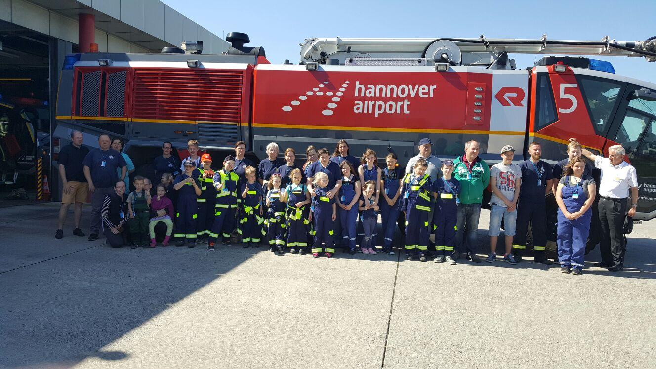 Besichtigung Hannover Airport